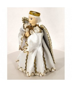 Porcelain art doll Little angel Handmade souvenir