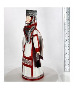 Chuvash folk women's costume 19th century Russia