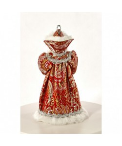 Art Doll Ded Moroz - Russian Santa Claus with gifts fairy-tale characters
