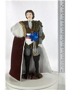 Dolls in men's costumes of different countries and eras - HandMadeSPb.com